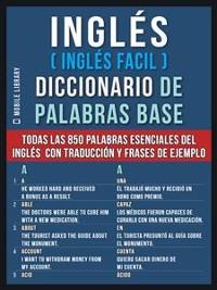 Cover Inglés (Inglés Facil) Diccionario de Palabras Base