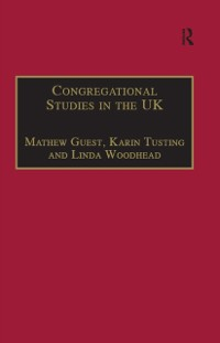 Cover Congregational Studies in the UK