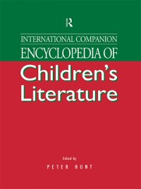 Cover International Companion Encyclopedia of Children's Literature