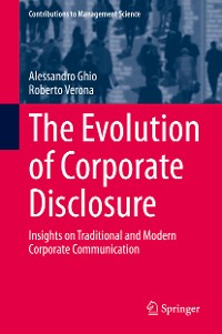 Cover The Evolution of Corporate Disclosure