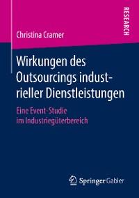 Cover Wirkungen des Outsourcings industrieller Dienstleistungen