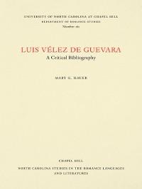 Cover Luis Vélez de Guevara
