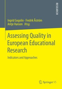 Cover Assessing Quality in European Educational Research