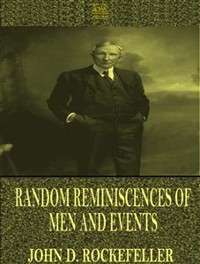 Cover Random Reminiscences of Men and Events