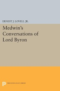 Cover Medwin's Conversations of Lord Byron