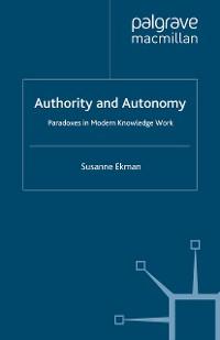 Cover Authority and Autonomy