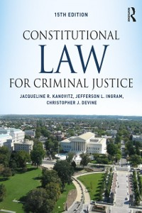 Cover Constitutional Law for Criminal Justice
