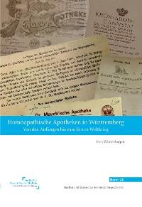 Cover Homöopathische Apotheken in Württemberg