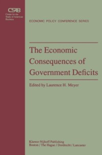 Cover Economic Consequences of Government Deficits