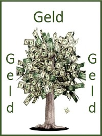 Cover Geld, Geld, Geld
