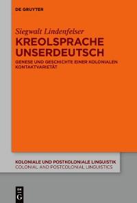 Cover KreolspracheUnserdeutsch