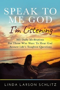 Cover Speak to Me God, I'm Listening