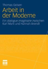 Cover Arbeit und Subjektwerdung in der Moderne