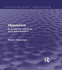 Cover Hypnosis (Psychology Revivals)