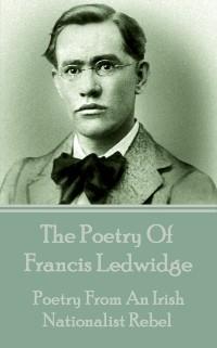 Cover Poetry Of Francis Ledwidge