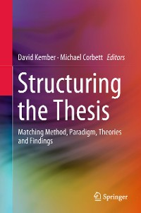 Cover Structuring the Thesis