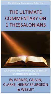 Cover The Ultimate Commentary On 1 Thessalonians