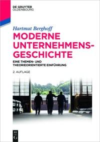 Cover Moderne Unternehmensgeschichte