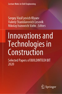 Cover Innovations and Technologies in Construction