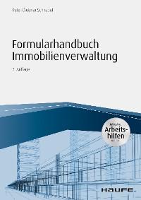 Cover Formularhandbuch Immobilienverwaltung - inkl. Arbeitshilfen online