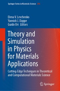 Cover Theory and Simulation in Physics for Materials Applications