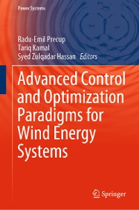 Cover Advanced Control and Optimization Paradigms for Wind Energy Systems