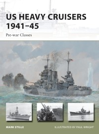 Cover US Heavy Cruisers 1941 45