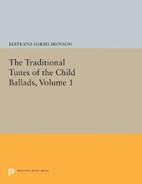 Cover The Traditional Tunes of the Child Ballads, Volume 1