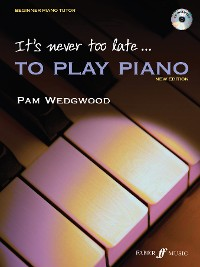 Cover It's never too late to play piano