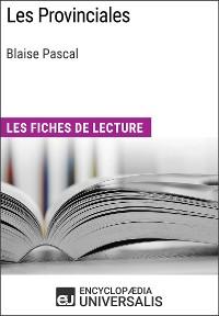 Cover Les Provinciales de Blaise Pascal