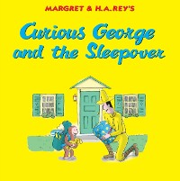 Cover Curious George and the Sleepover