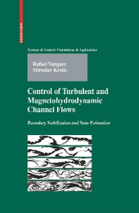 Cover Control of Turbulent and Magnetohydrodynamic Channel Flows