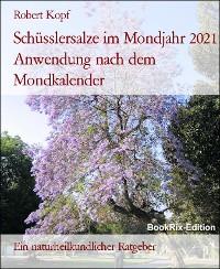 Cover Schüsslersalze im Mondjahr 2021 Anwendung nach dem Mondkalender
