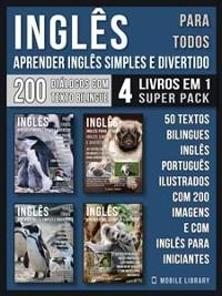 Cover Inglês para todos - Aprender Inglês Simples e Divertido (4 livros em 1 Super Pack)