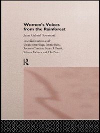Cover Women's Voices from the Rainforest