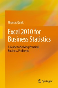 Cover Excel 2010 for Business Statistics