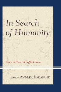 Cover In Search of Humanity