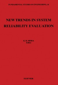 Cover New Trends in System Reliability Evaluation