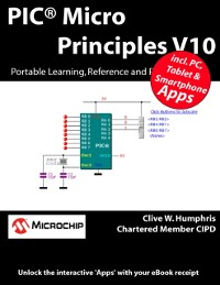 Cover PIC(R) Micro Principles V10: Portable Learning, Reference and Revision Tools.