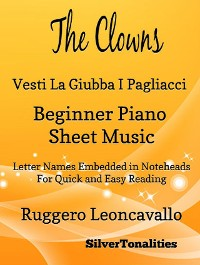 Cover The Clowns Beginner Piano Sheet Music