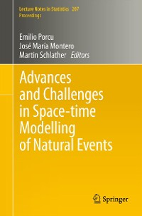 Cover Advances and Challenges in Space-time Modelling of Natural Events