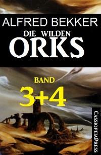 Cover Die wilden Orks, Band 3 und 4
