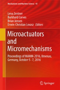 Cover Microactuators and Micromechanisms