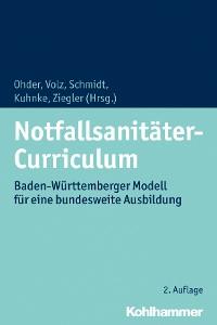 Cover Notfallsanitäter-Curriculum