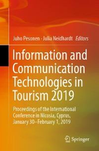 Cover Information and Communication Technologies in Tourism 2019