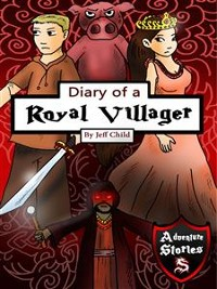 Cover Diary of a Royal Villager