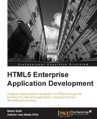 Cover HTML5 Enterprise Application Development