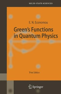 Cover Green's Functions in Quantum Physics