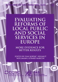 Cover Evaluating Reforms of Local Public and Social Services in Europe