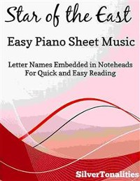 Cover Star of the East Easiest Piano Sheet Music